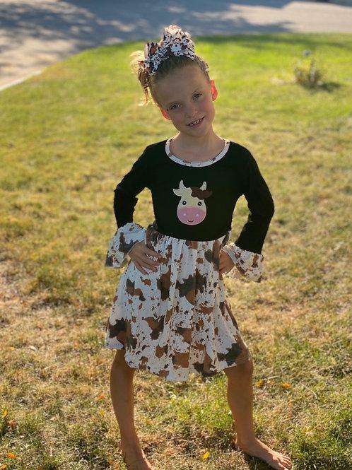 Moooooo Cow Dress