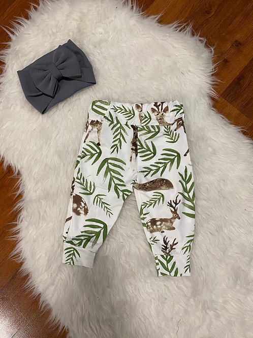 Deer Leaves Pants