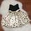 Thumbnail: Black/Creme Poke a Dot Dress