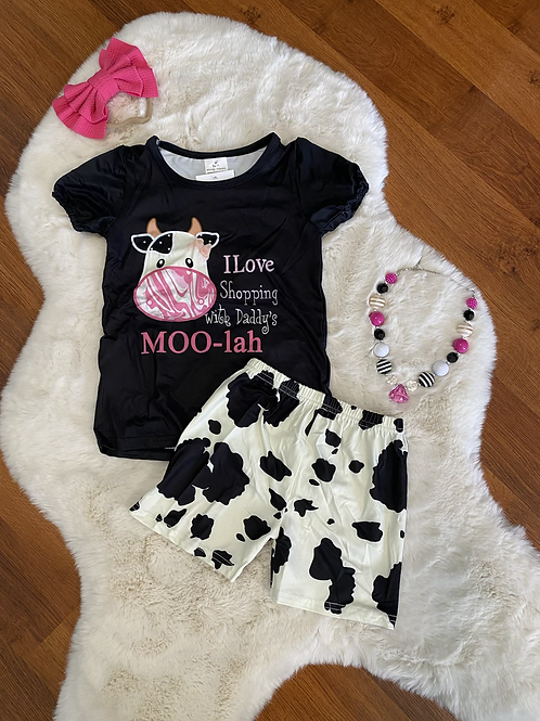 Daddy's Moo-lah Outfit