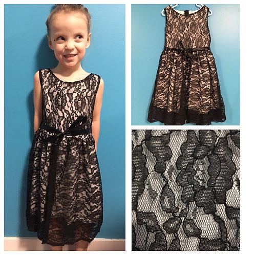 Black/White Lace Dress