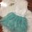 Thumbnail: Light Green Sleeveless Tutu Dress