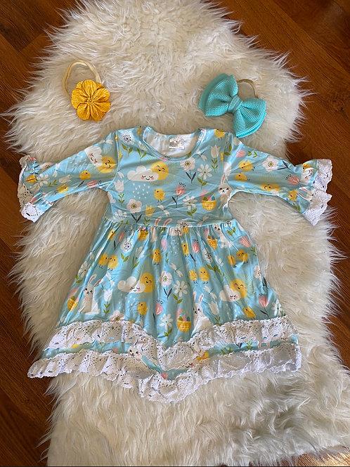 Blue Spring Dress