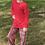 Thumbnail: Red Plaid Big Kid Adult PJ's