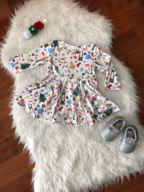 Nutcracker Christmas Dress