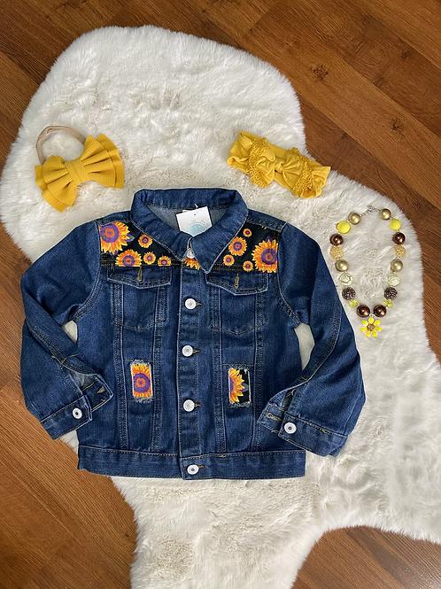 Sunflower Jean Jacket