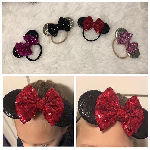 Minnie Mouse Stretchy Headbands