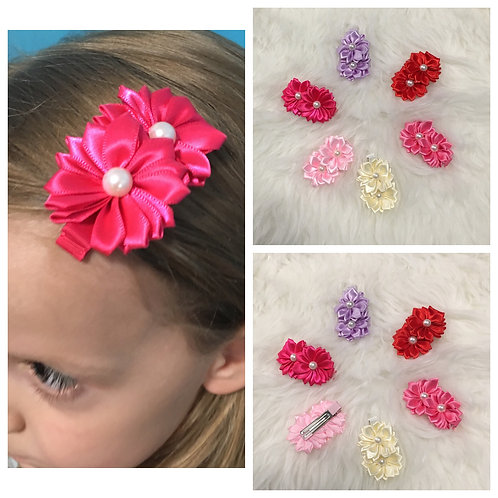 Two Flower Clip