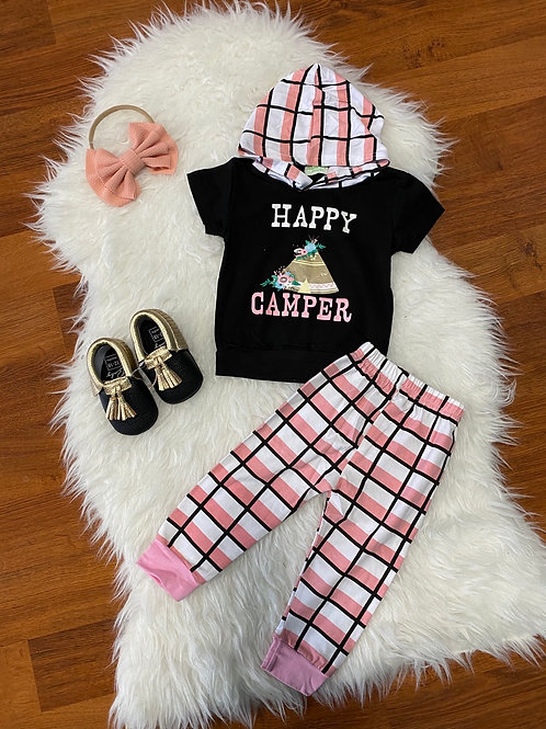 Pink Happy Camper Outfit