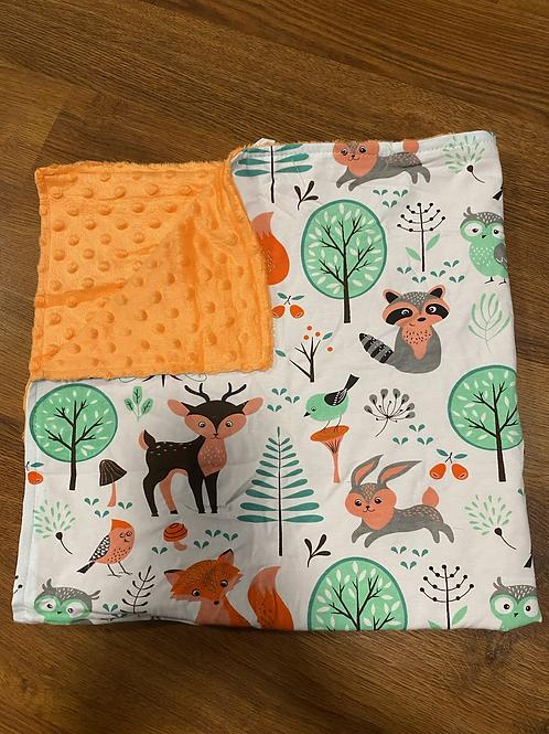Nature Animal Baby Blanket