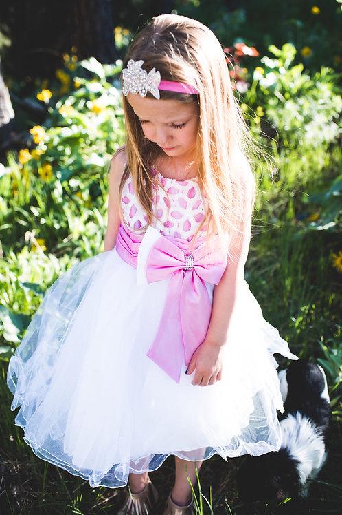 Big Pink Bow Dress