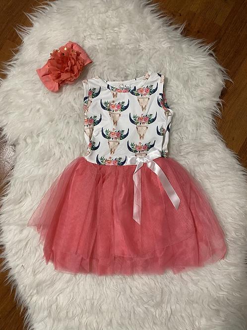 Steer Head Tutu Dress