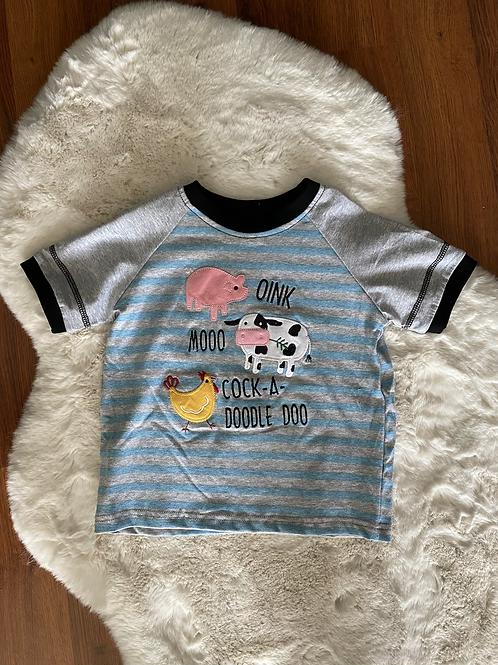 Oink Moo Cock-a-Doodle Doo Shirt