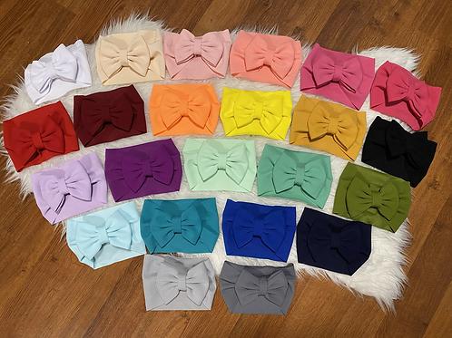 Large Bow tie Headwraps