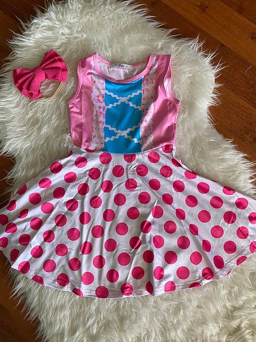 Inspired Little Bow Peep Dress