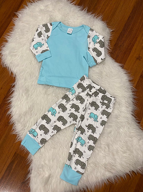 Blue Elephant Outfit