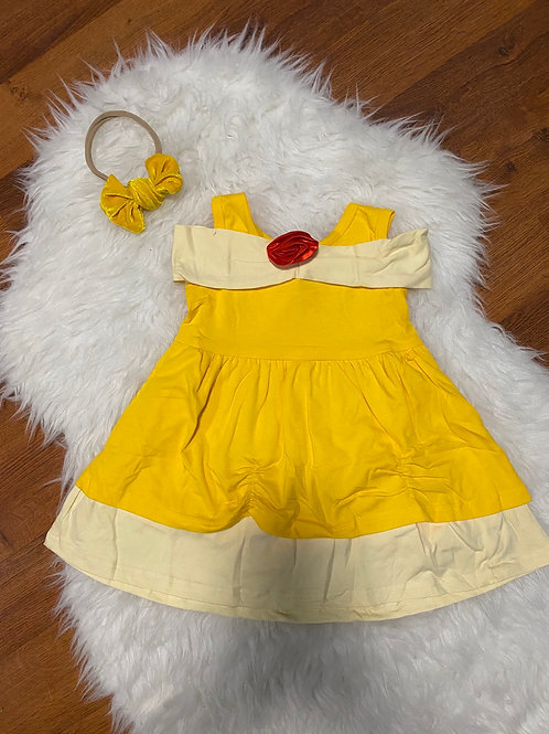 Inspired Belle Princess Dress #2