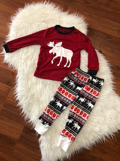 Moose Christmas PJ's