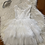 Thumbnail: White Sleeveless Tutu Dress #3