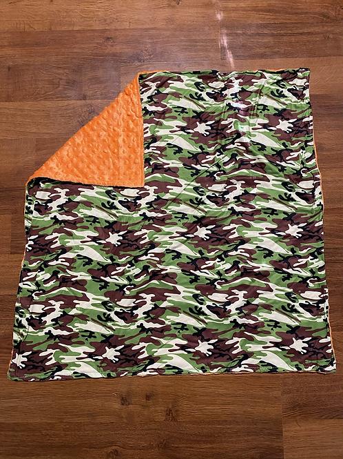 Camo Baby Blankets