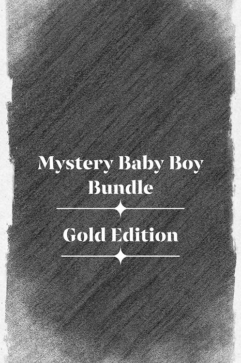 Mystery Baby Boy Bundle—Gold Edition