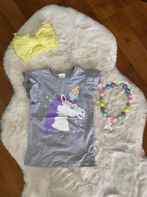 Grey Unicorn Shirt