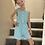 Thumbnail: Blue Stripe Romper with Pockets