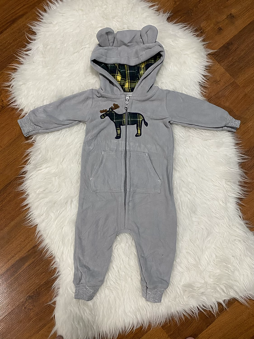 Grey Moose Romper