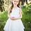 Thumbnail: White Front/Back Bow Dress