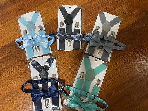 Bowtie/Suspender Bundle