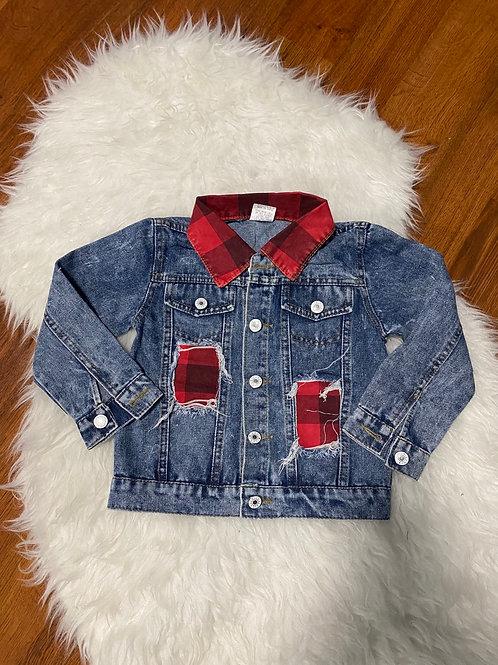 Plaid Toddler Jacket