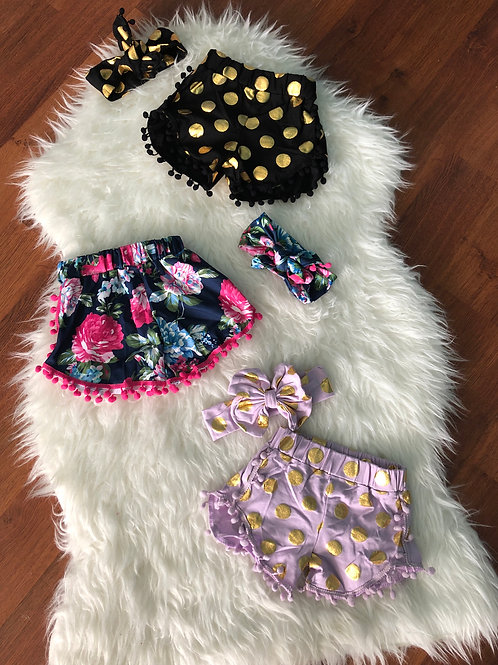 Shorts With Headwrap