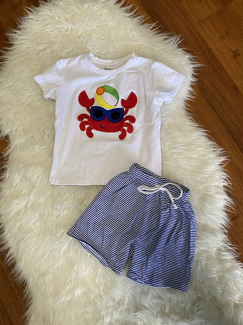 Crab Shorts Outfit
