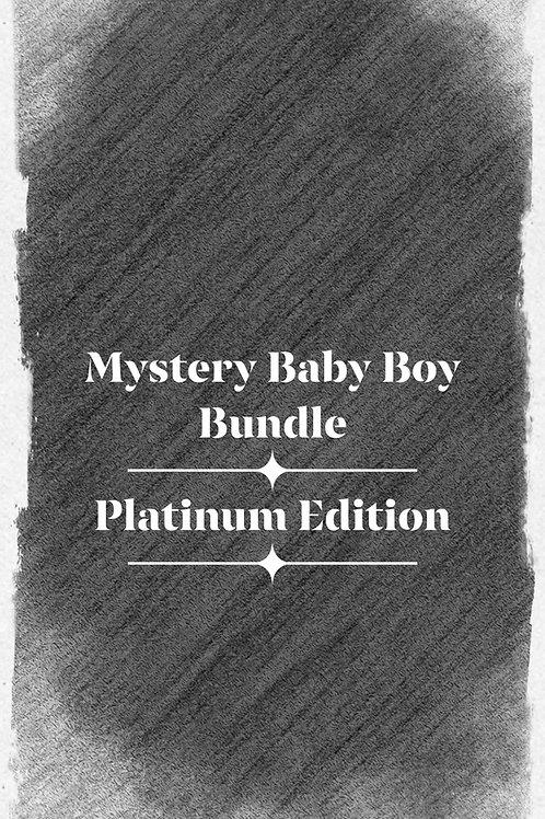 Mystery Baby Boy Bundle—Platium Edition