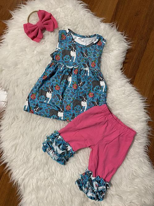 Dog Capri Outfit