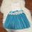 Thumbnail: Blue Bottom Tutu Dress