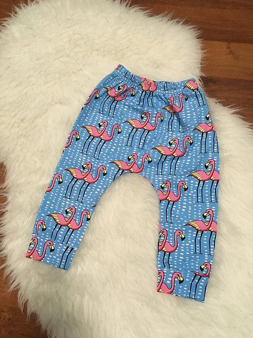 Flamingo Harem Pants