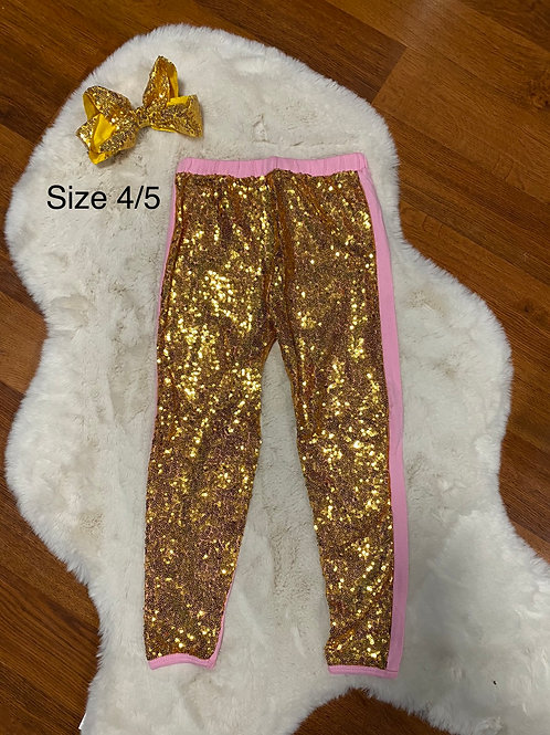 Gold Sparkle Tights