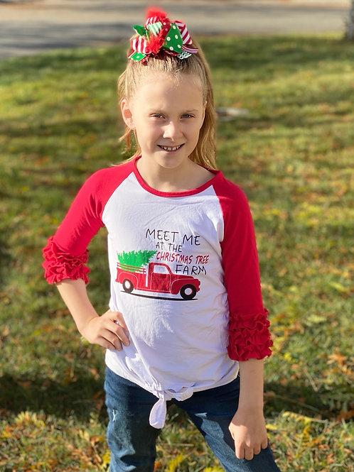 Meet me at the Christmas Tree Farm Shirt