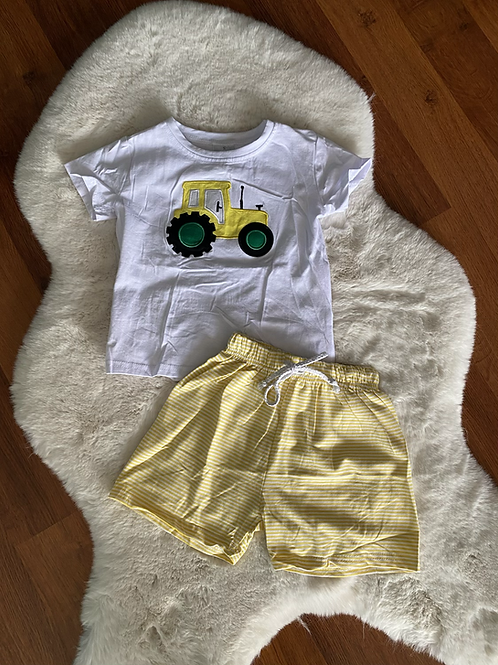 Yellow Tractor Outfit