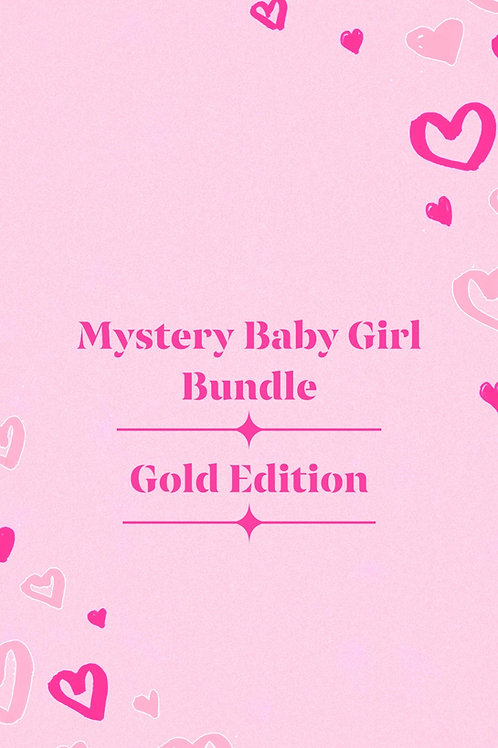 Mystery Baby Girl Bundle—Gold Edition