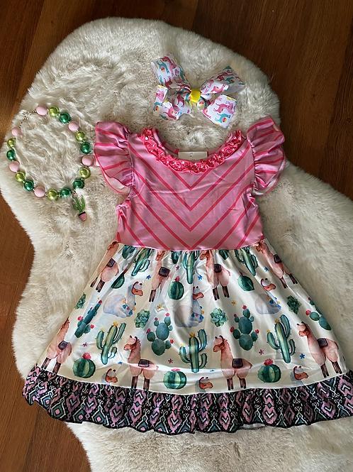Cactus Llama Dress