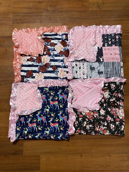 Girly Baby Blankets