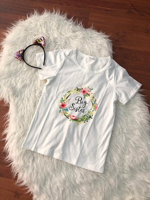 Big Sister Flower Shirt