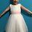 Thumbnail: White Dress With Pink Belt