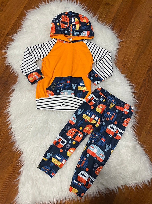 Orange Camping Outfit