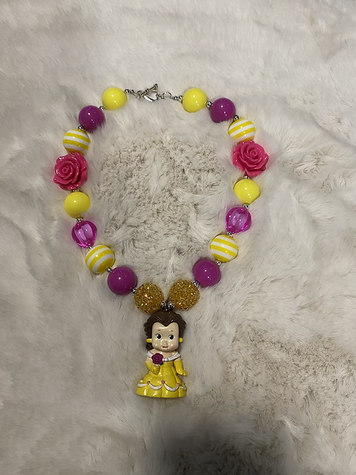 Belle Inspired Bubble Necklace