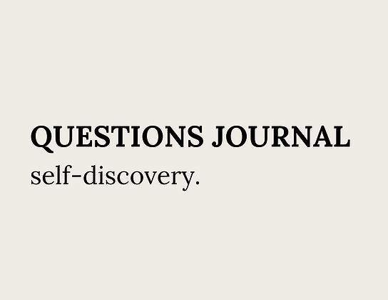 Questions Journal - GRATUIT