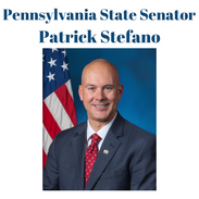 Pennsylvania's 32nd District, Senator Pat Stefano serves Fayette, Somerset and Westmoreland Counties. He currently serves as chair of the Veteran's Affairs and Emergency Preparedness Committee, Vice Chair of the Communications and Technology Committee, and multiple other committees serving our community.