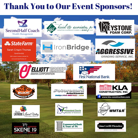 Thank You to Our Event Sponsors! SAVE THE DATE! Monday, August 16th.png